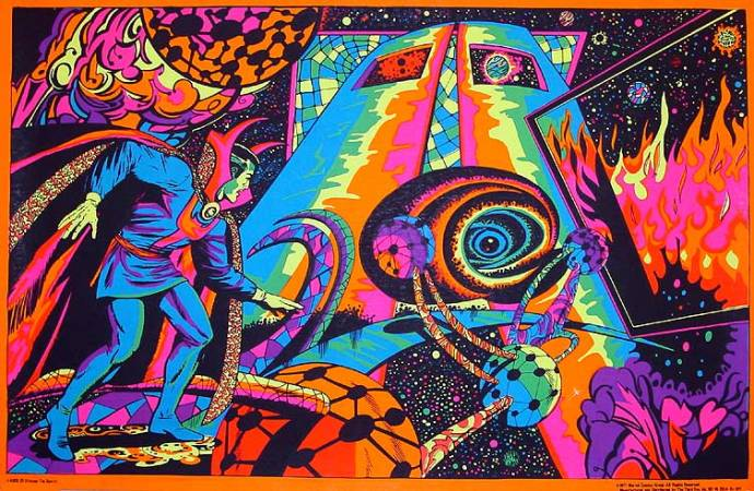 Ditko Doctor Strange Blacklight
