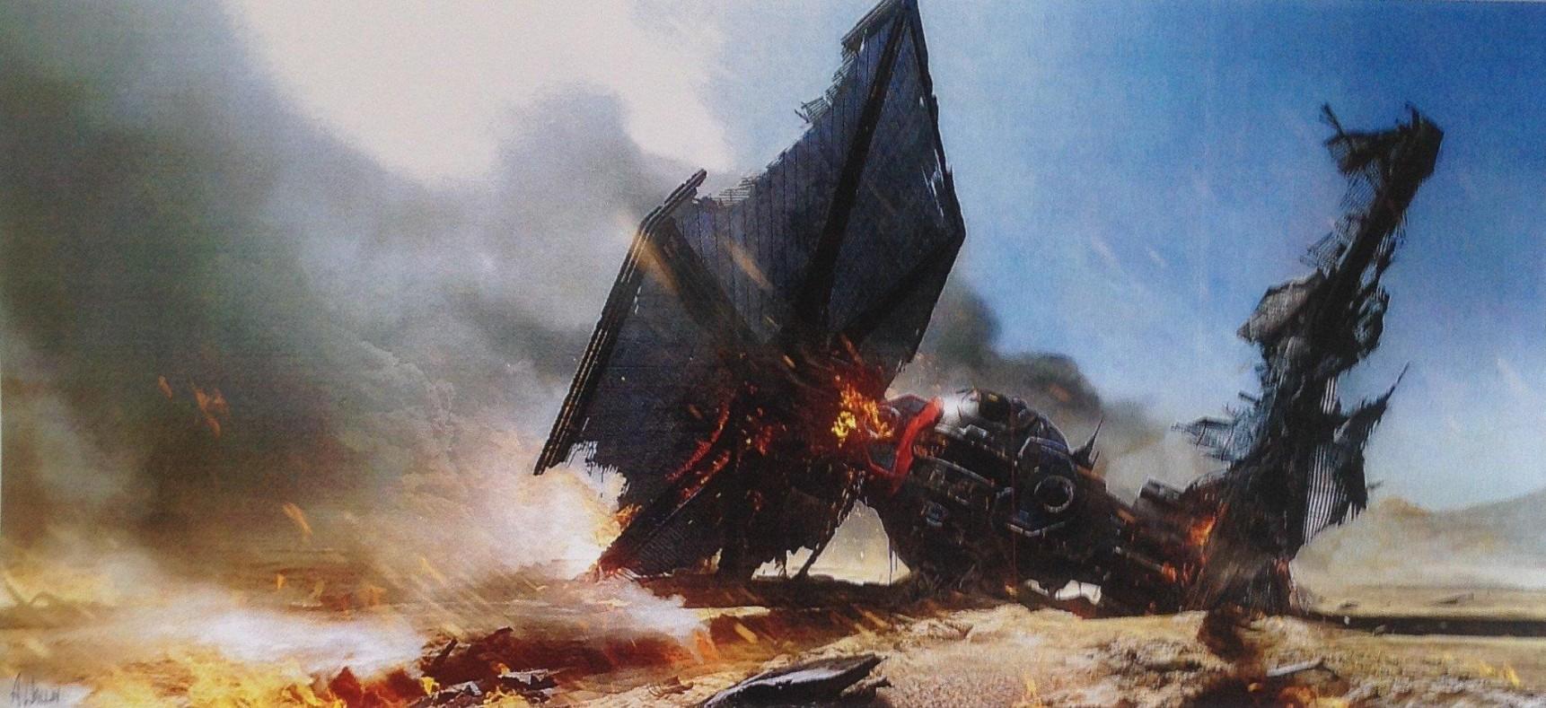Concept art for Star Wars Episode VII leaked