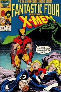 Hopefully the cinematic X-Men/FF meeting will go better