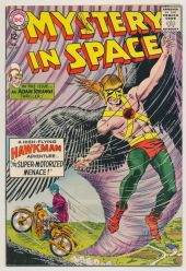 MYSTERY-IN-SPACE-89-VG-Hawkman-Silver-Age