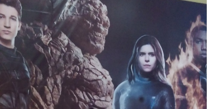 International poster of Fantastic Four movie