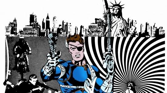 A classic S.H.I.E.L.D. cover by Jim Steranko