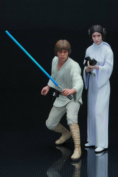 Star Wars Luke Skywalker & Princess Leia Artfx