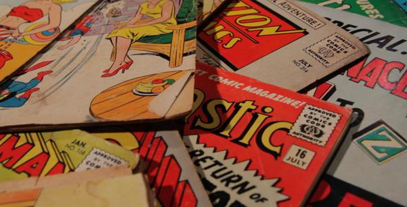 Vintage Comics preview
