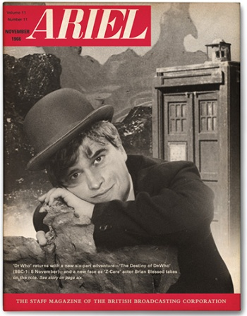 Brian Blessed as the alternate Second Doctor Who