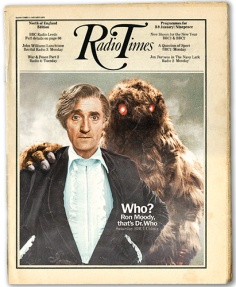 Ron Moody as the alternate Third Doctor Who