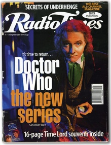 Rik Mayal as the alternate Eighth Doctor Who