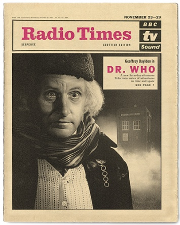 Geoffrey Bayldon as Doctor Who