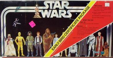 The 1977 Star Wars Early Bird Set